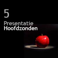 5 presentatiehoofdzonden