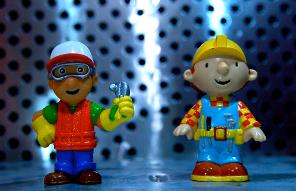 Handy Manny vs Bob the Builder by JD Hancock
