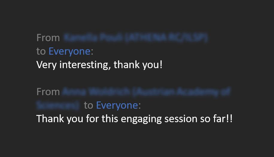 Chat online presentatie