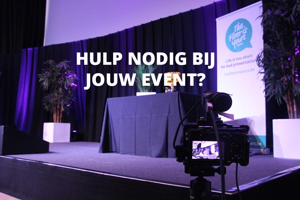 Hulp nodig bij jouw event?
