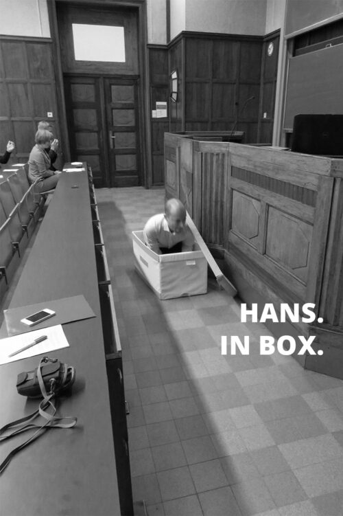 Hans in box