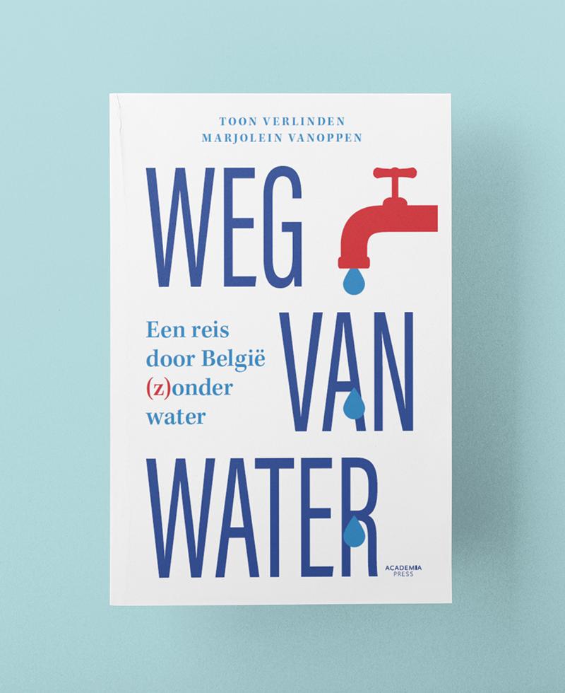 Boek Weg van Water van Toon Verlinden en Marjolein Vanoppen